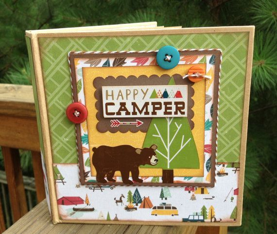 17 best scrapbook layouts camping and hiking images on for Ideas for mini vacations