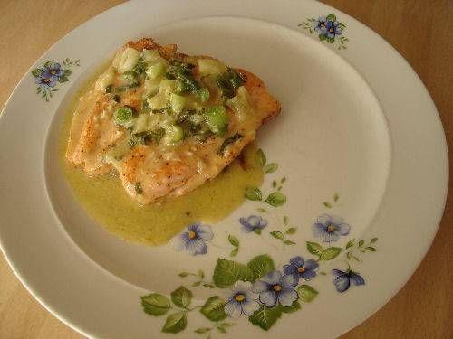 Zalm In Currysaus recept | Smulweb.nl