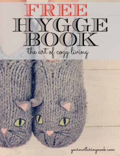It's finally here! A hygge book just for you, for free! I've rounded up all of my most popular posts and compiled them all into one convenient printable book, The Art of Cozy Living With the Danish Practice of Hygge.