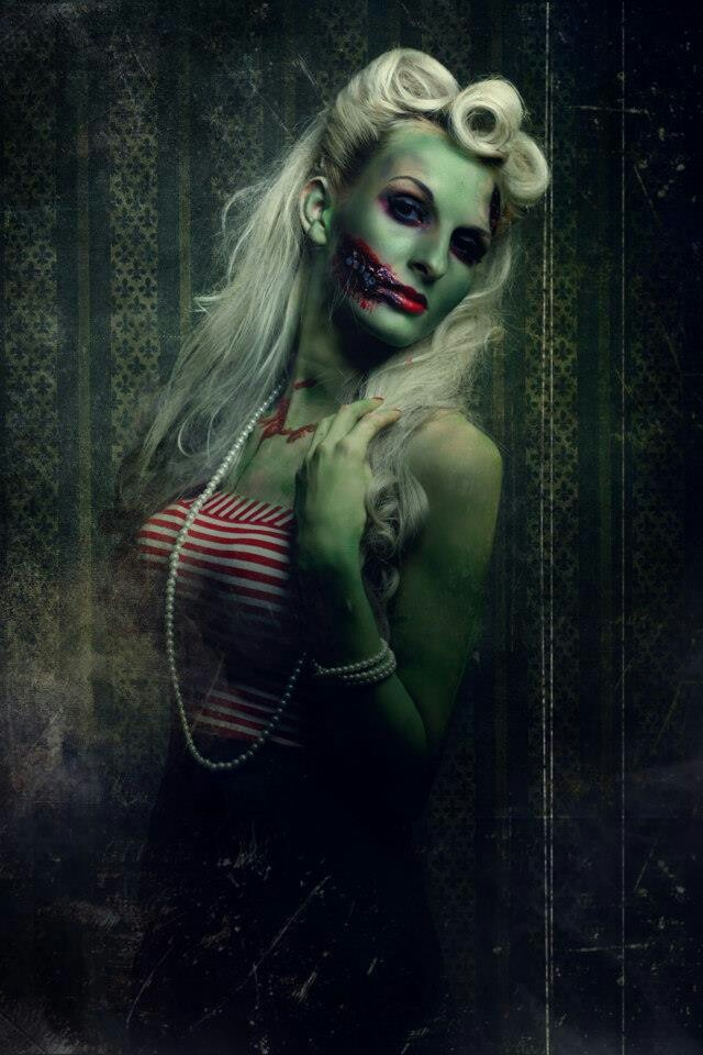 Zombie pin up - costume reference