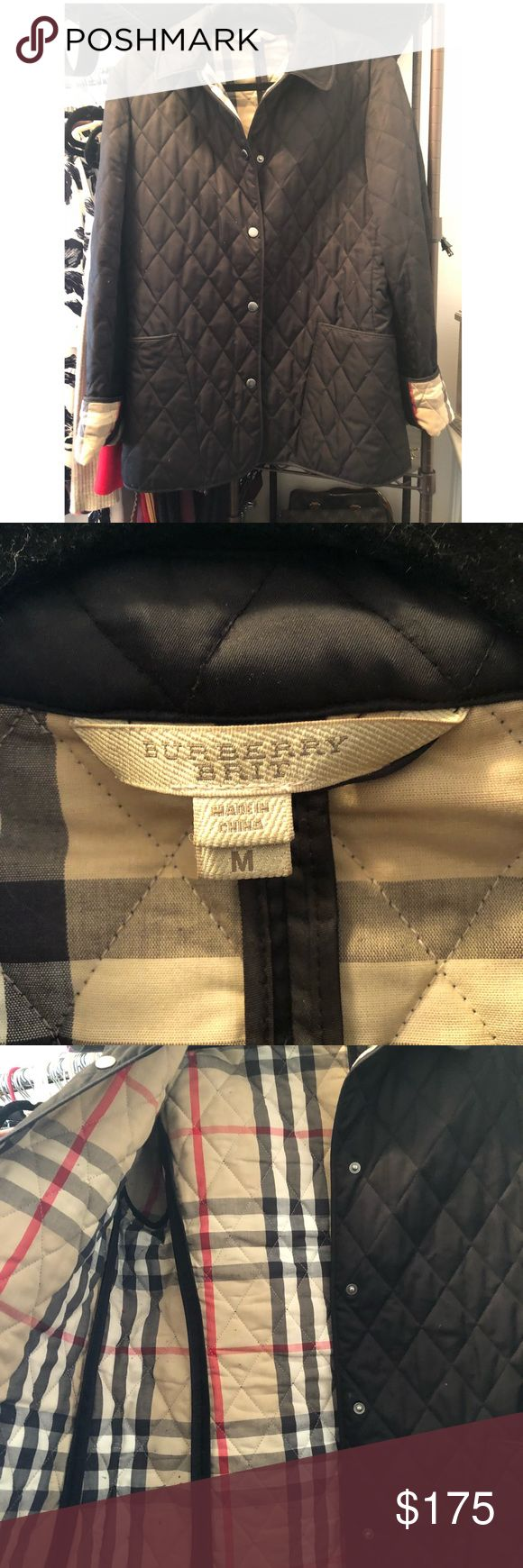 Burberry Brit Jacket size m. Hello I'm selling my Burberry Brit size medium jacket. Good condition. Burberry Jackets & Coats
