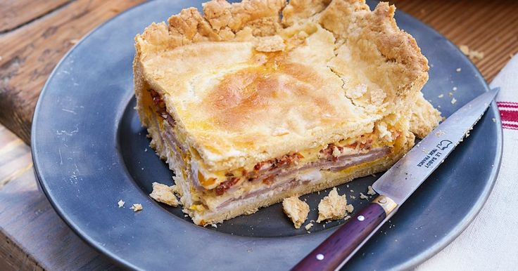 This pie is a tempting cross between a classic brekkie combo and the much-loved Aussie meat pie.
