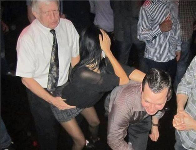 Grandpa knows how to party