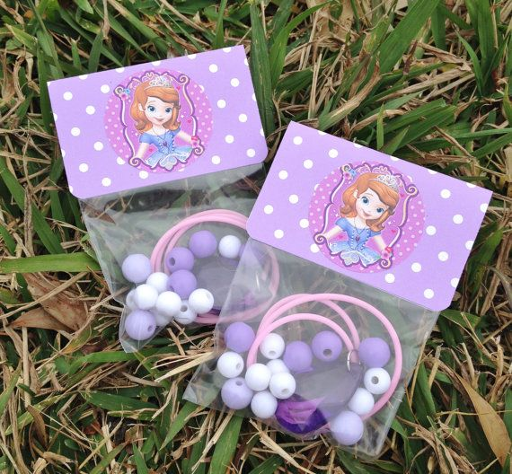 "Sofia Amulet Necklace Kit Princess Collection Sofia the 1st Amulet Birthday or Slumber Party Favor 16"" DIY Necklace Kits - Set of 8 $24.00"