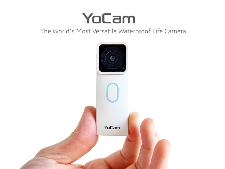The smallest waterproof camera that integrate the functions of GoPro, DropCam, Lifelogging Camera, Selfie Camera, Dash Cam and more