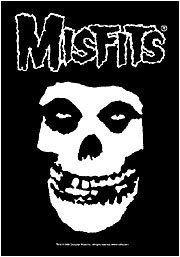 "Misfits - Fiend Skull by Flagline. Save 49 Off!. $10.21. 30"" x 40"" textile poster. Screen printed, 30"" x 40"" pieces of fabric art. They are printed on sheer, soft-as-silk material for the highest quality"