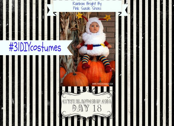 DIY Halloween Costumes: How to Make a Rainbow Bright Costume #31DIYCostumes