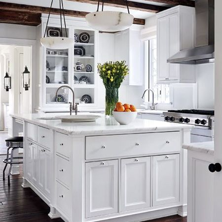 All white kitchen ideas kitchens pinterest All white kitchen ideas
