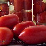 Pomidory w słonej zalewie