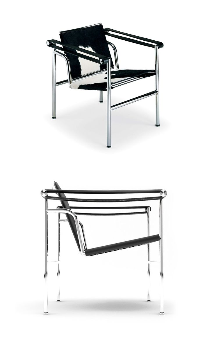 lc1 1928 le corbusier con pierre jeanneret e charlotte perriand le corbusier pinterest. Black Bedroom Furniture Sets. Home Design Ideas