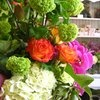 sf flower mart. opens to public at 10 am. bring buckets for flowers