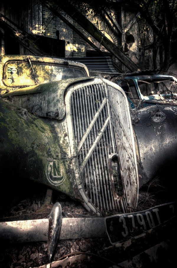 98 best traction images on Pinterest | Abandoned cars, Abandoned ...