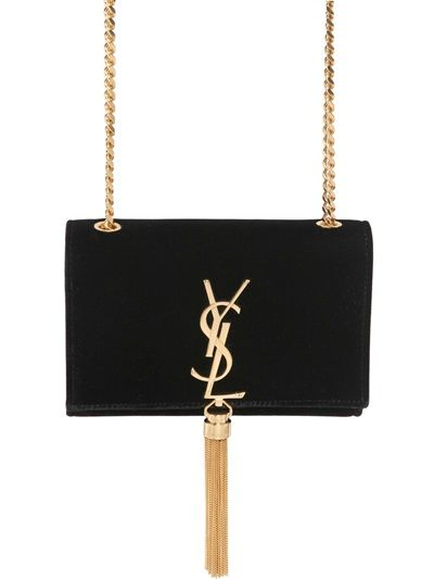 2014 cheap ysl classic monogramme saint laurent clutch in hotpink