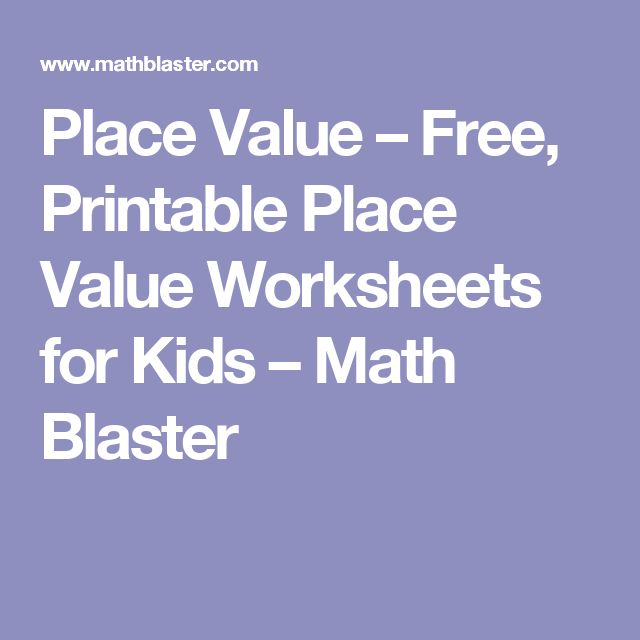 1000+ ideas about Place Value Worksheets on Pinterest   Grade 2 ...