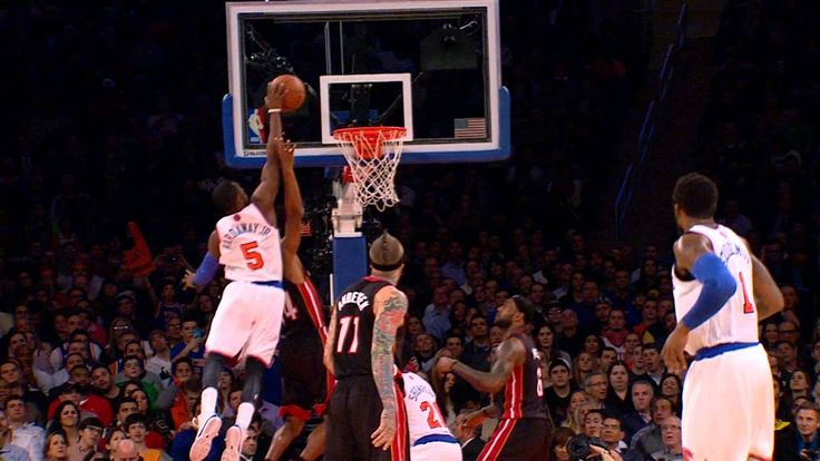 Tim Hardaway Jr's SICK Putback Jam Over Ray Allen