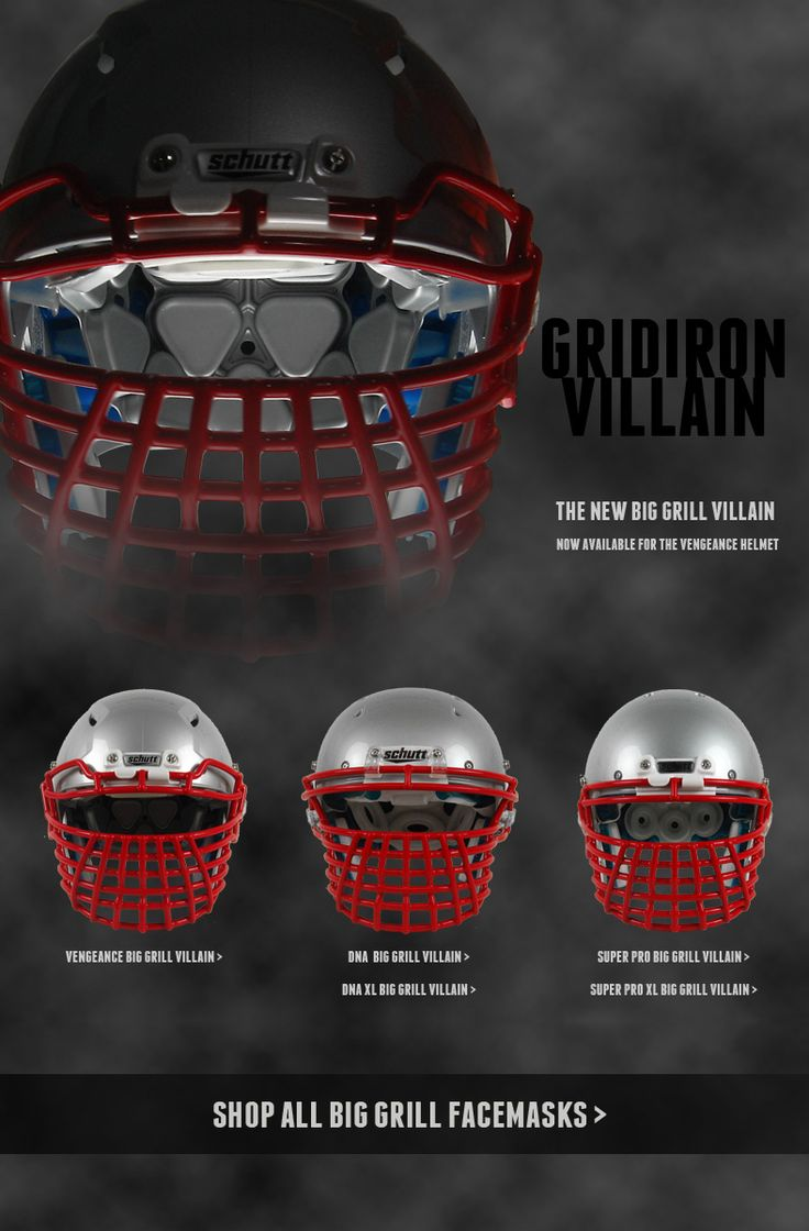 Big grill villain facemask bane facemask now available