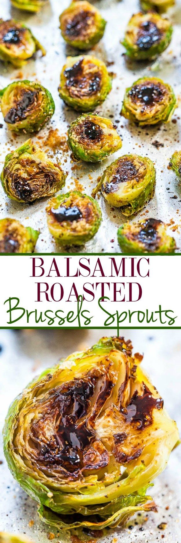 Balsamic Roasted Brussels Sprouts | 17 Easy Vegetable Sides That Are Actually Delicious