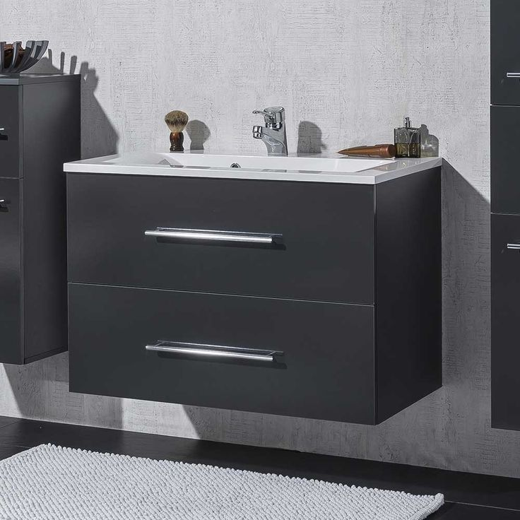 Die besten 25+ Waschtisch 80 cm Ideen auf Pinterest Fliesen - badezimmerschrank mit waschbecken