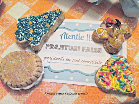 Petrecere cu prajituri false