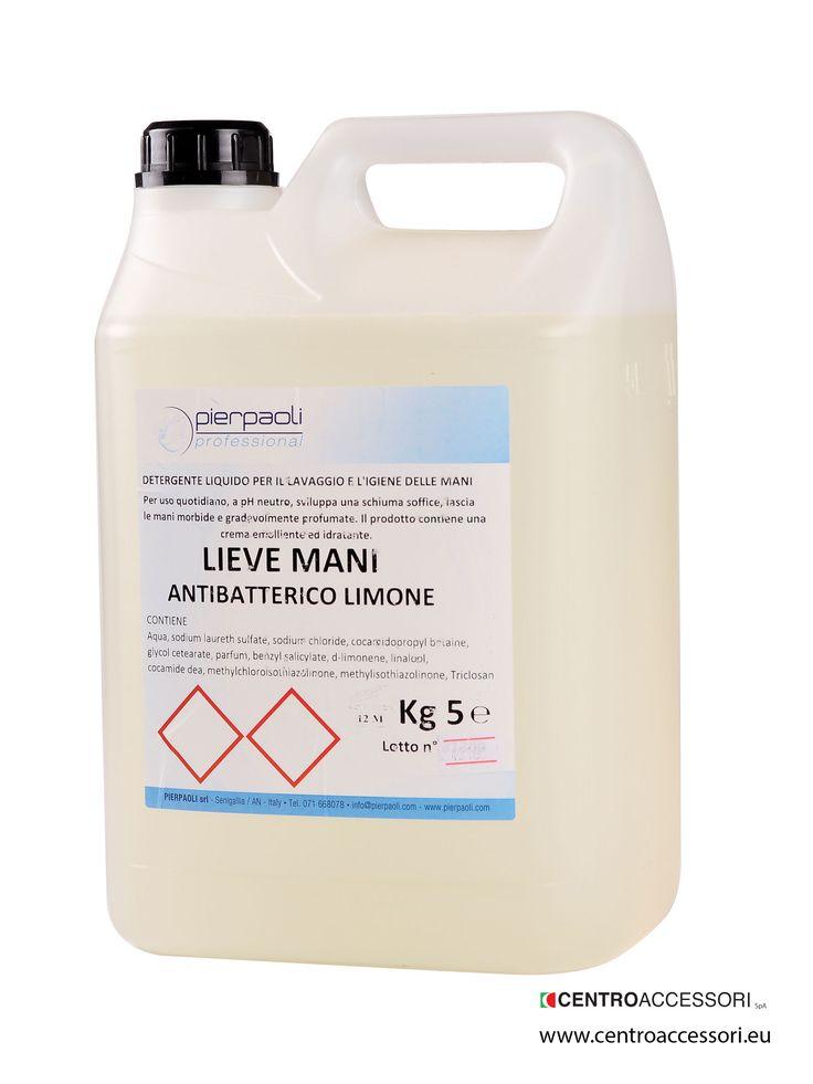 Lievemani, lavamani per uso frequente, antibatterico. Hand wash soap for frequent use, antibacterial. #CentroAccessori