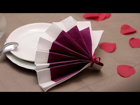 Favori 172 best Pliage de serviette de table images on Pinterest  FA87