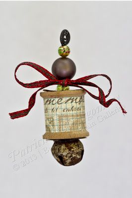 Sewing Notion Christmas Ornament | Musings From the Mountain | Photographer Patricia Montgomery