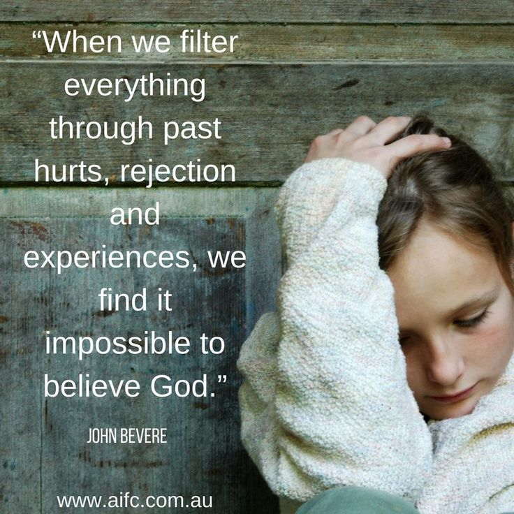 learn about past hurts and rejection at aifc.com.au