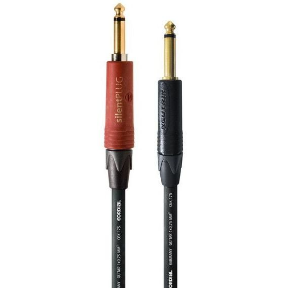 Cordial Csi Pp Silent 6m Encore 1 4 Ts To 1 4 Ts Silentplug Instrument Cable Instruments Pure Products Cable
