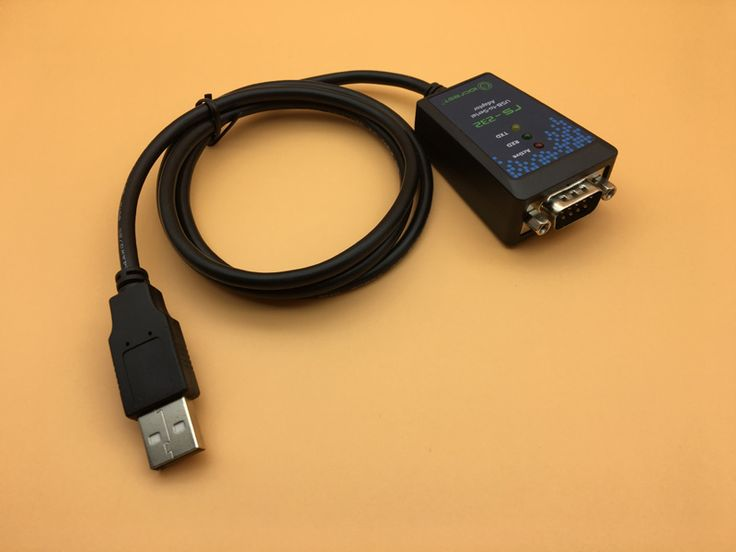 USB to Serial Cable 100cm DB9 Pin COM Port Industrial Converter FTDI Chip USB 2.0 to RS232 Adapter