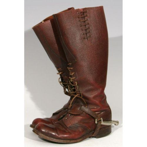 RCMP Riding Boots with Original Spurs