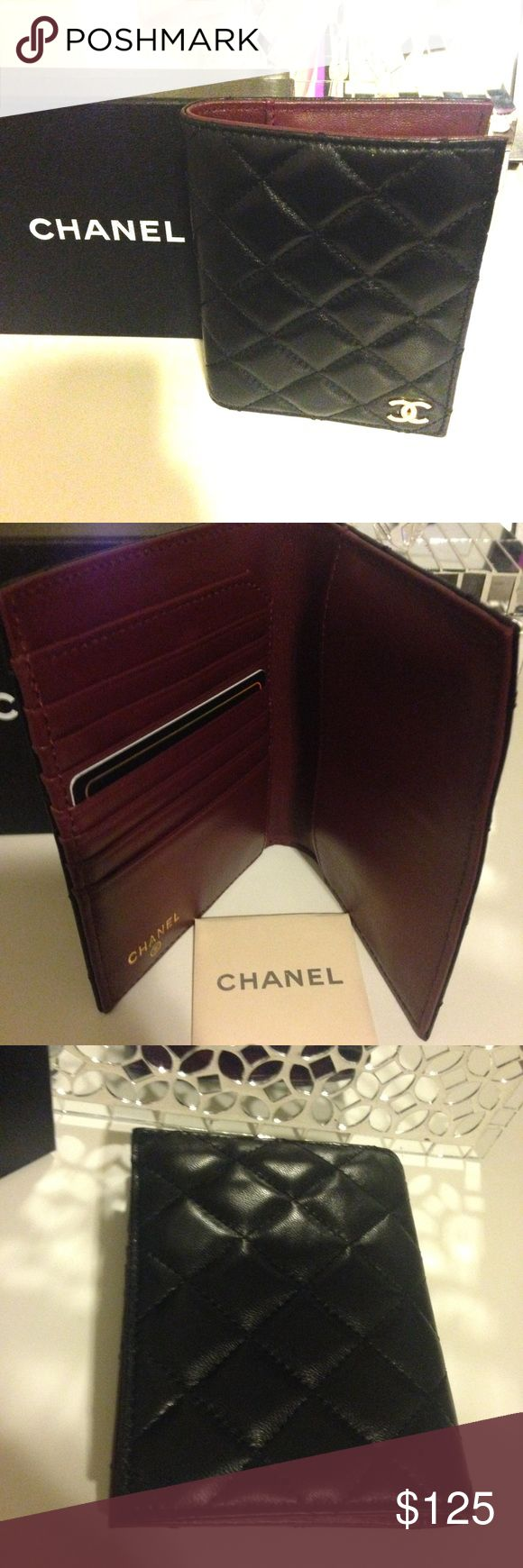 Chanel passport wallet New with box- real leather. High quality and not priced at $500 for a reason CHANEL Accessories