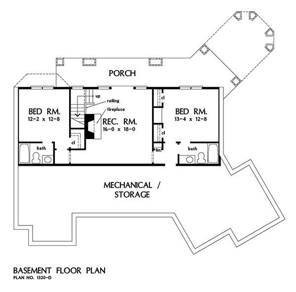 79 best plans de maison images on pinterest craftsman for 2500 sq ft house plans with walkout basement