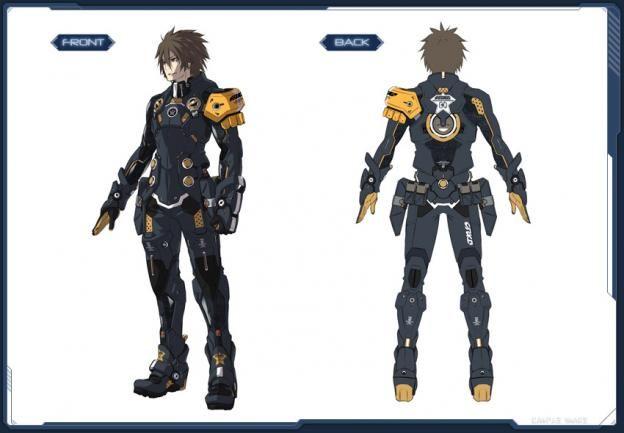 Humar - Phantasy Star Online 2 concept art