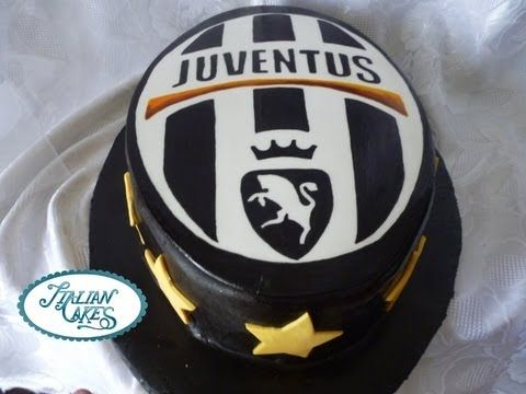 Torta di compleanno juventus (decorated cake) by italiancakes