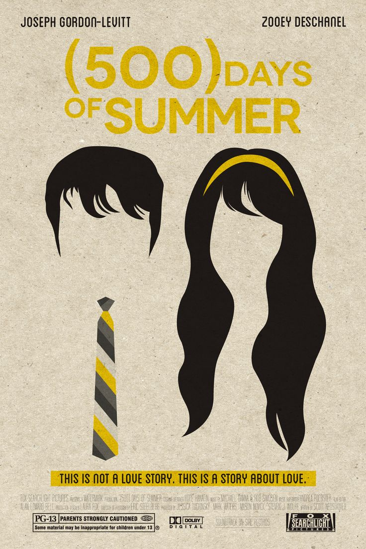 500 Days of Summer art | cinema_cinema | Pinterest