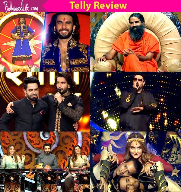 Om Shanti Om-Shraddha Wahi Andaaz Naya takes a grand opening with spectacular performances by Ranveer Singh and Sonakshi Sinha