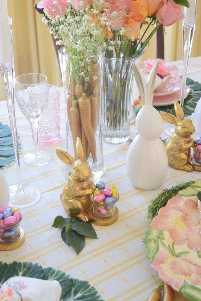 24 Carrot Easter Table!