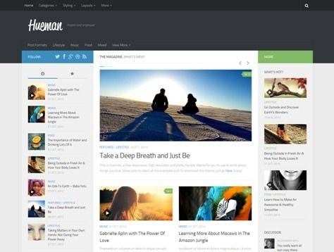 51 best WordPress Themes images on Pinterest | Wordpress template ...