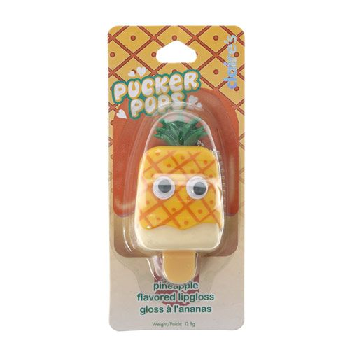 Pineapple Flavoured Pucker Pops