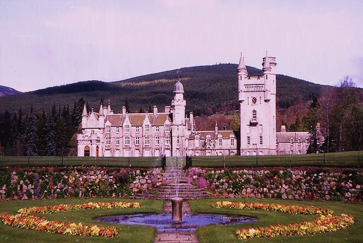 2/3 Balmoral Castle and the original estate were purchased for Queen Victoria by Prince Albert in 1852. The original Balmoral Castle was built in the fifteenth century but it was considered too small. A new castle was constructed on the site about 90 metres (100 yards) north from the old building. Prince Albert planned the grounds and helped with the design of the castle itself, which was completed in 1856.