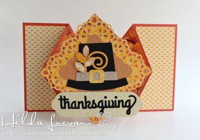Hilda Designs: Tarjetas Accion de Gracias, SnapDragon Snippets