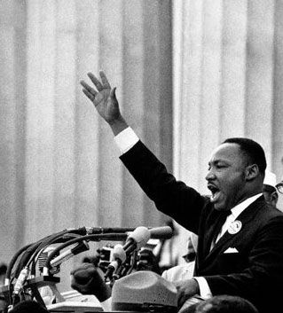 an analysis of the use of rhetorical triangle in the speech of martin luther king jr Students will study martin luther king jr's i have a dream speech and discuss the rhetorical influences on king's speech, the oratorical devices that king used in delivering his speech.