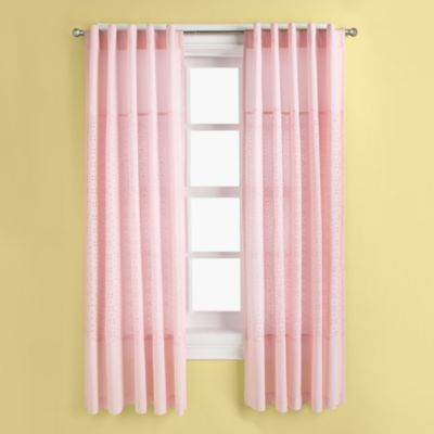 Eyelet Pink Curtain Panels I 39 M Not One For Eyelet But