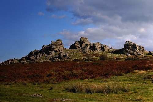 Hound Tor, Dartmoor, Devon, England. I love Hound Tor it has amazing views for the top and you get a real feel of the wilds of Dartmoor