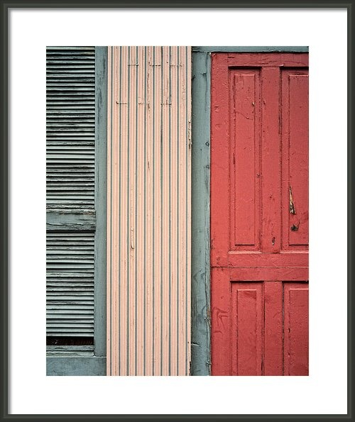 Teal Shutters Coral Door Framed Print By Dick Wood Fine Art Photography Pinterest Coral