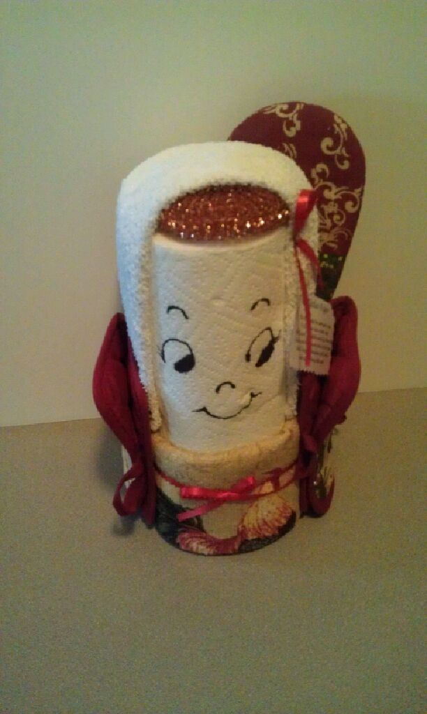 My paper towel lady  gifts  Homemade gifts Crafty projects Paper