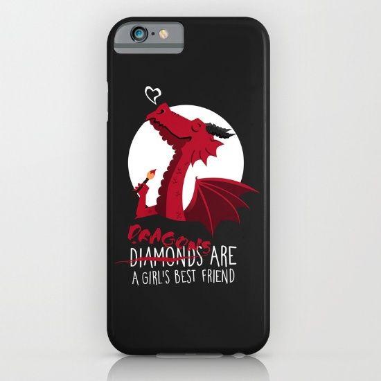 Dragon friend iPhone & iPod Case by Erika Biro | Society6