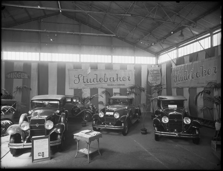 013283PD: Display of Studebaker motor cars for Sydney Atkinson Motors, 1929. http://encore.slwa.wa.gov.au/iii/encore/record/C__Rb1921041__S013283PD__Orightresult__U__X3?lang=eng&suite=def