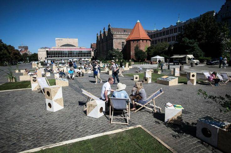 TARG WĘGLOWY 2013 / temporal public space installation / fot. D. Werner