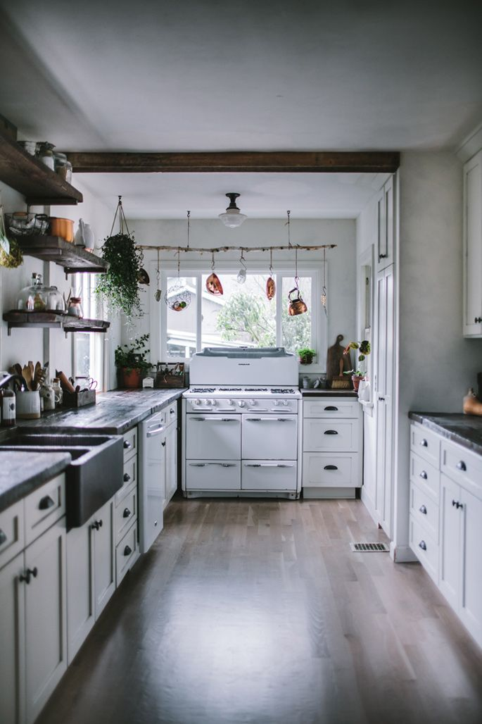 Before And After A Modern Rustic Kitchen Makeover